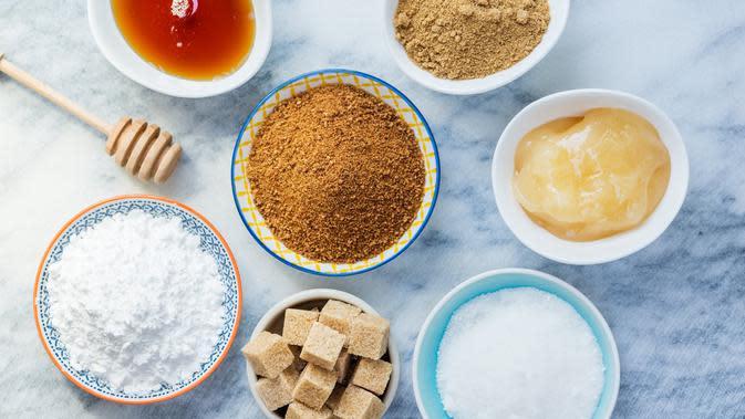 ilustrasi berbagai jenis gula/copyright by Anna Mente (Shutterstock)