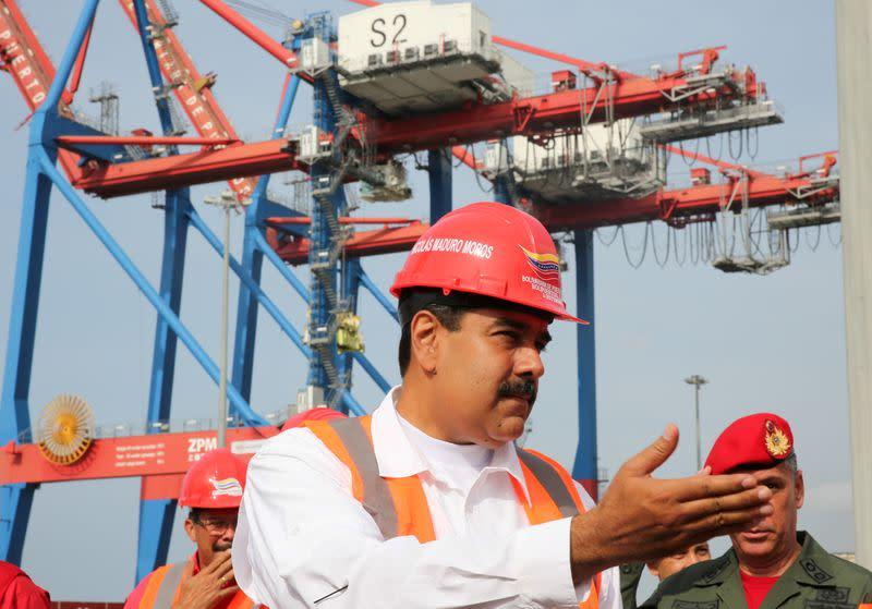 Exclusive: Iranian vessel loads with Venezuelan alumina, amid closer ties - sources