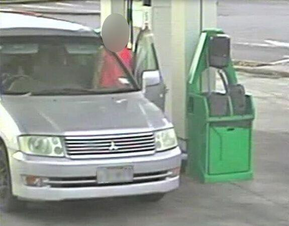 The owners of the Auckland BP say the spate of drive-off petrol thefts have put a strain on business. Pictured is another suspect.