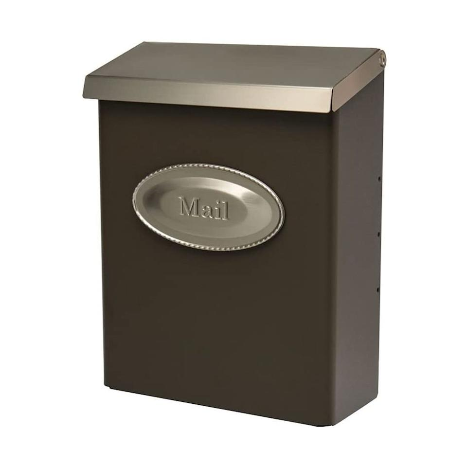 """<p><strong>Gibraltar Mailboxes</strong></p><p>amazon.com</p><p><strong>$21.89</strong></p><p><a href=""""https://www.amazon.com/dp/B000HCXM9M?tag=syn-yahoo-20&ascsubtag=%5Bartid%7C10050.g.33662251%5Bsrc%7Cyahoo-us"""" target=""""_blank"""">Shop Now</a></p><p>Who actually <em>wants </em>to hike down their driveway just to pick up a few letters? This decorative wall-mounted mailbox is super convenient to access—just open your front door and voilà! Plus, it doesn't require a post or tedious assembly to set up.<em></em></p>"""