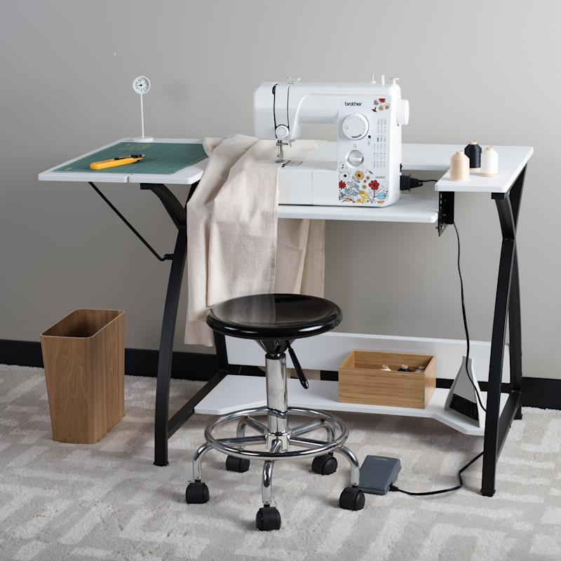 Sew Ready Comet Modern Sewing Table. (Photo: Walmart)