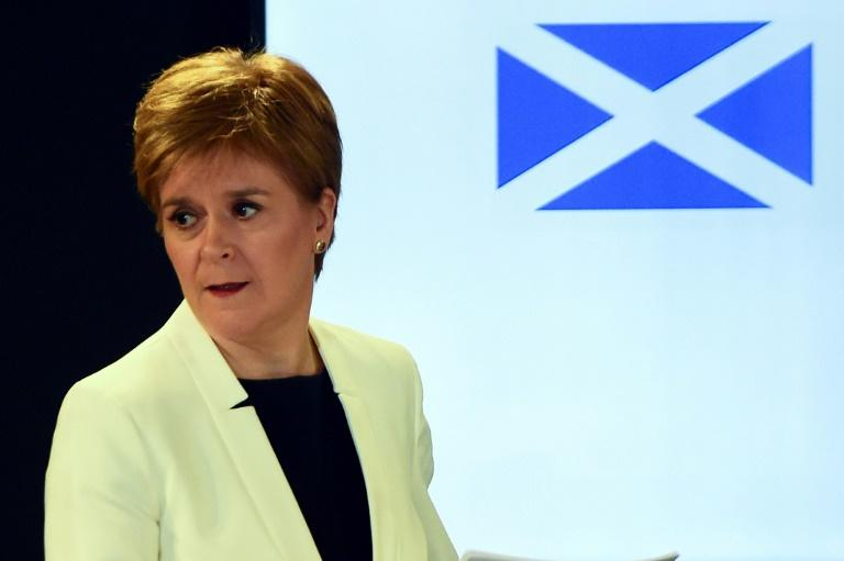 Scotland's First Minister Nicola Sturgeon criticised pubs that had opened over the weekend, ignoring government advice