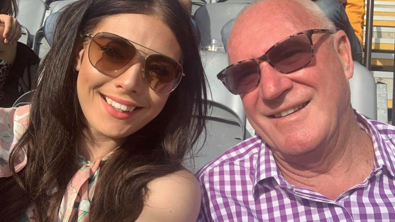 Magistrate Rodney Higgins and Ashleigh Petrie