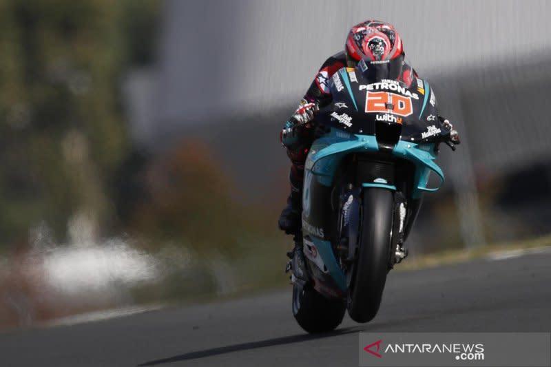 Lolos dari cedera serius, Quartararo dinyatakan fit untuk GP Aragon