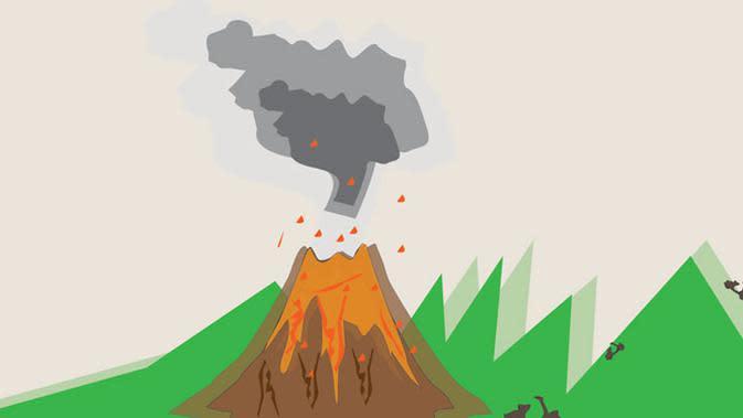Soal Indikasi Terbentuknya Gunung Api Baru di NTT, Ini Penjelasan PVMBG