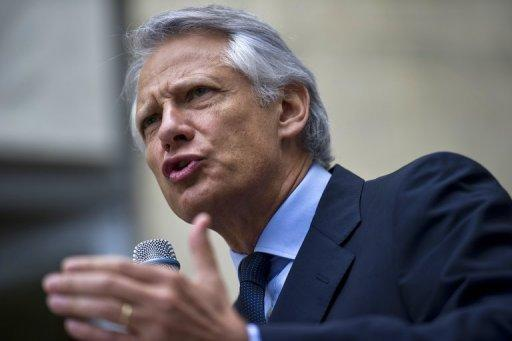 African leaders gave former French president Jacques Chirac and his prime minister Dominique de Villepin, seen here in June 2011, briefcases full of cash, notably to finance election campaigns, a former aide alleged on Sunday