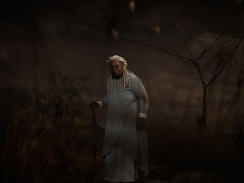 Pictured: Whoopi Goldberg as Mother Abagail of the the CBS All Access series THE STAND. Photo Cr: James Minchin/CBS ©2020 CBS Interactive, Inc. All Rights Reserved.