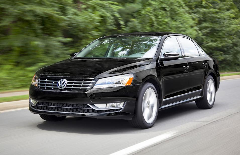 This Dec. 13, 2013 photo released by Volkswagen shows the 2014 Volkswagen Passat. (AP Photo/Volkswagen)