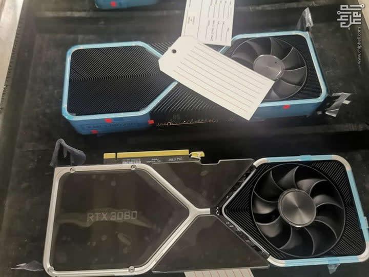 Nvidia RTX 3080 Ampere leak