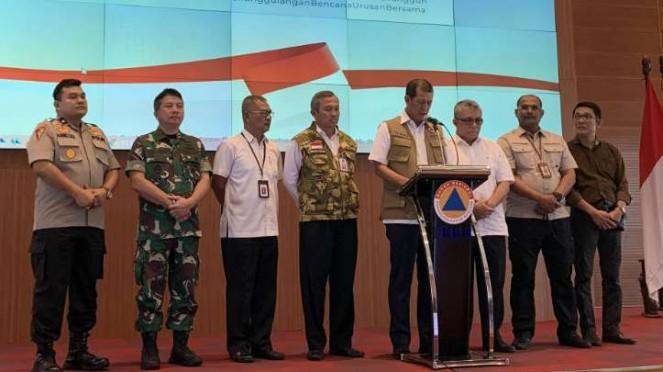 Kepala BNPB Letjen TNI Doni Monardo.