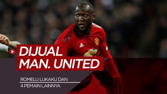 MOTION GRAFIS: 5 Pemain Ini Tak Sepantasnya Dibuang Manchester United, Diantaranya Romelu Lukaku