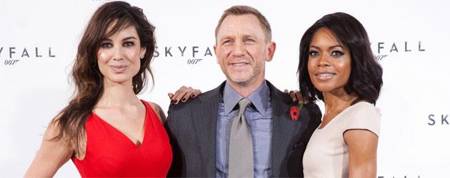 'Skyfall' presents two new tough and seductive Bond girls