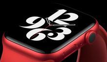 紅色Apple Watch Series 6首開箱 醒目火紅超吸睛