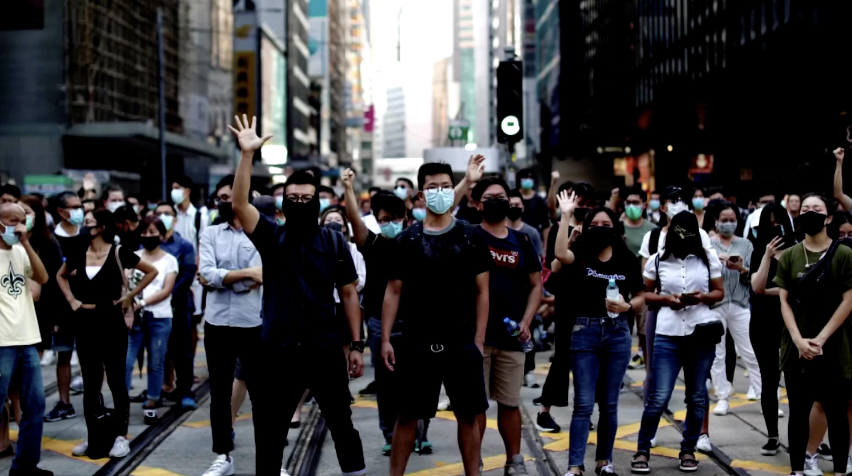 禁蒙面法對香港恢復平靜有沒有幫助?