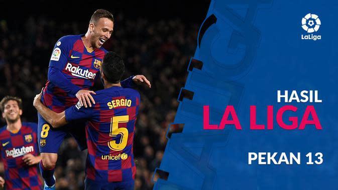 VIDEO: Hasil La Liga Pekan 13, Barcelona Menang Besar Atas Celta Vigo