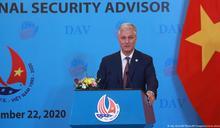 美國安顧問訪越南 呼籲對抗中國霸凌