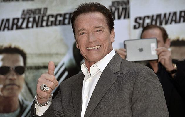 Arnold Schwarzenegger sex pic prompts £150,000 offer