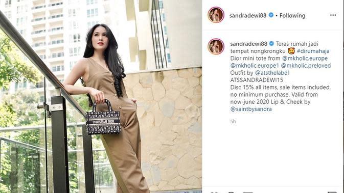Sandra Dewi (Foto: Instagram/@sandradewi88)