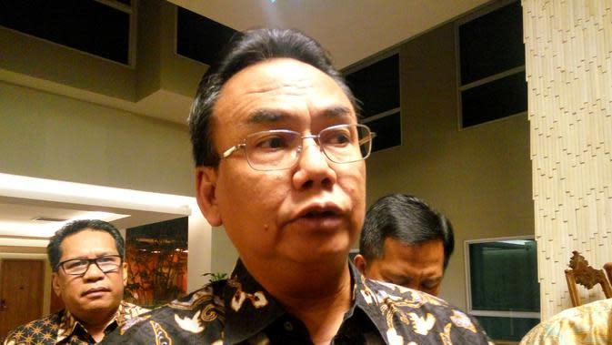 Harry Hikmat, Dirjen Perlindungan dan Jaminan Sosial Kemensos RI (Liputan6.com/ Switzy Sabandar)