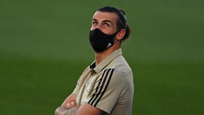 Legenda Timnas Jerman, Jurgen Klinsmann, menyarankan Gareth Bale untuk segera hengkang dari Real Madrid dan mencari klub baru. (AFP/Gabriel Bouys)