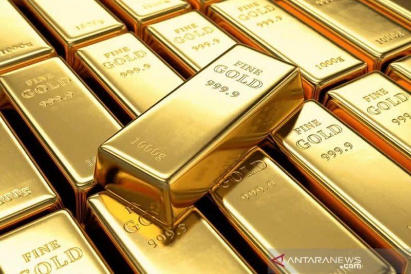 Emas berjangka naik 3,3 dolar, investor hindari aset berisiko