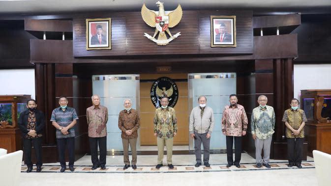 Temui Mahfud, Purnawirawan TNI Puji Pemerintahan Jokowi