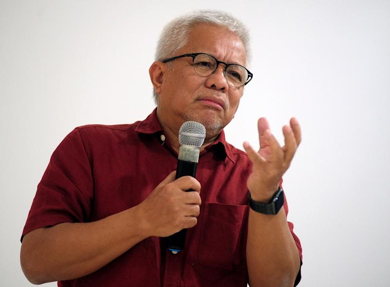 Datuk Hussamuddin Yaacub said the campaign is not political in nature but intended to turn the heat down in through rational discourse in an already contentious political and social landscape. — Bernama pic