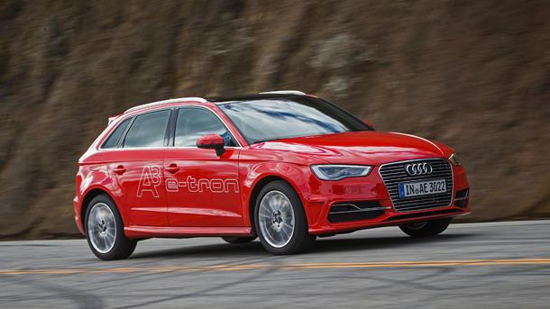 2015 Audi A3 e-tron, plug-in wagons ho: Motoramic Drives