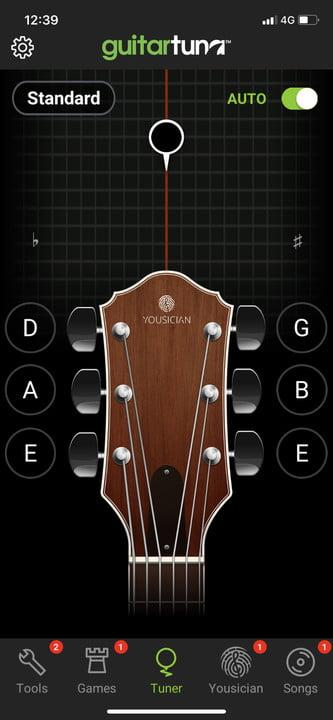 GuitarTuna guitar app