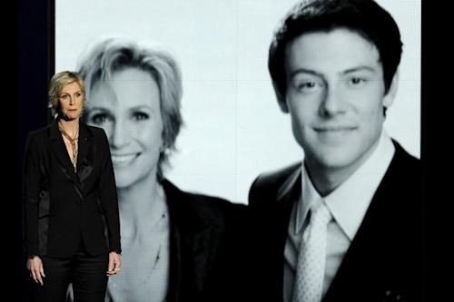 Emmys: Cory Monteith Remembered by Jane Lynch – He Was 'a Beautiful Soul' (Video)