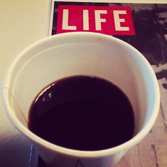 Coffee is my life.