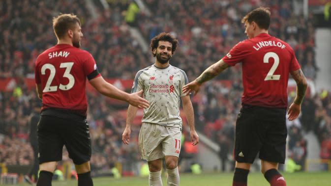 Jadwal Liga Inggris di TVRI Malam Ini, Liverpool Vs MU