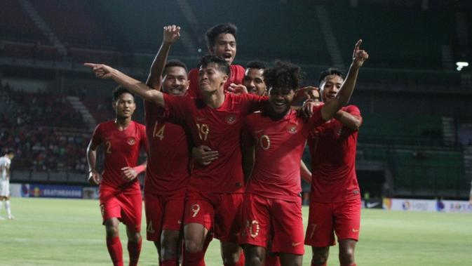 Para pemain Timnas Indonesia U-19 yang merupakan binaan PSSI melalui program Elite Pro Academy dan Garuda Select. (Foto: PSSI)
