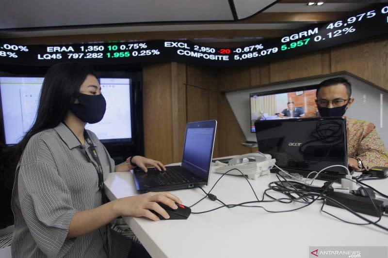 Indeks saham BEI naik seiring menguatnya keyakinan konsumen