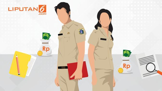 Banner Infografis Gaji PNS