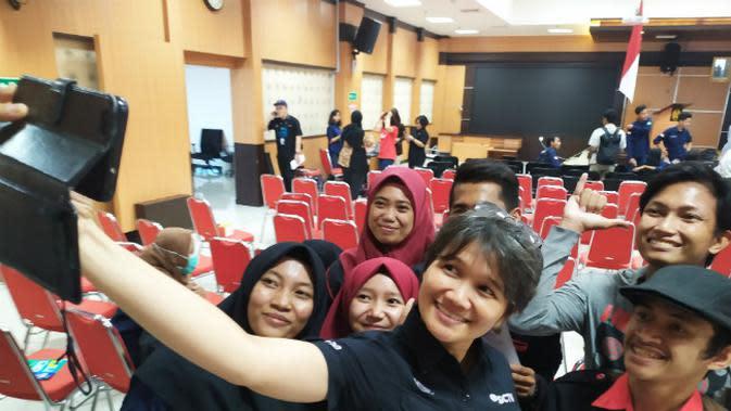Puluhan Mahasiswa IAIN Madura Antusias Ikut EGTC 2019 di Surabaya