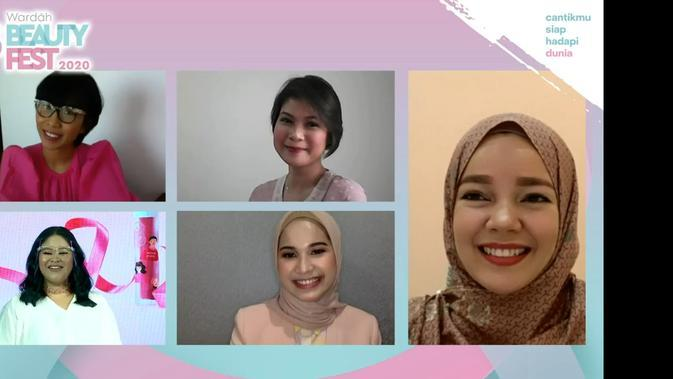 Dewi Sandra di Wardah Beauty Fest 2020