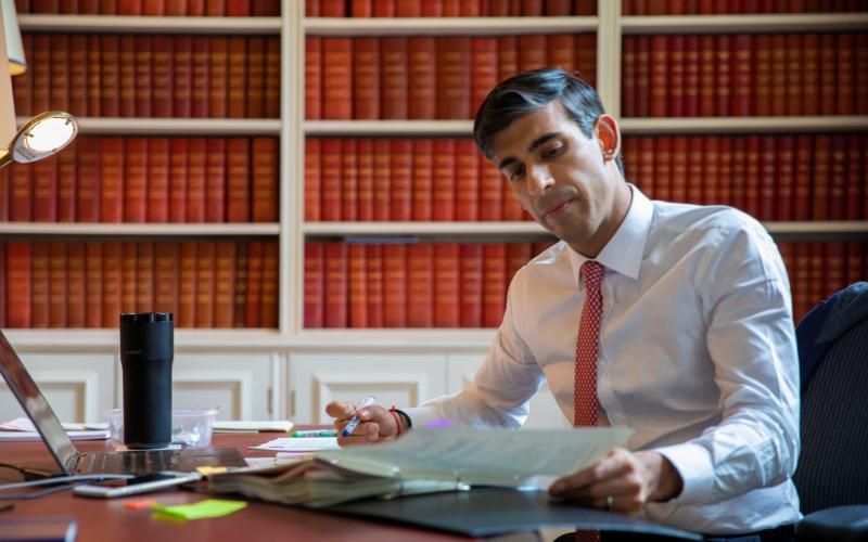Businesses will look to Rishi Sunak for help in tomorrow's 'mini-Budget'. - Simon Walker/HM Treasury