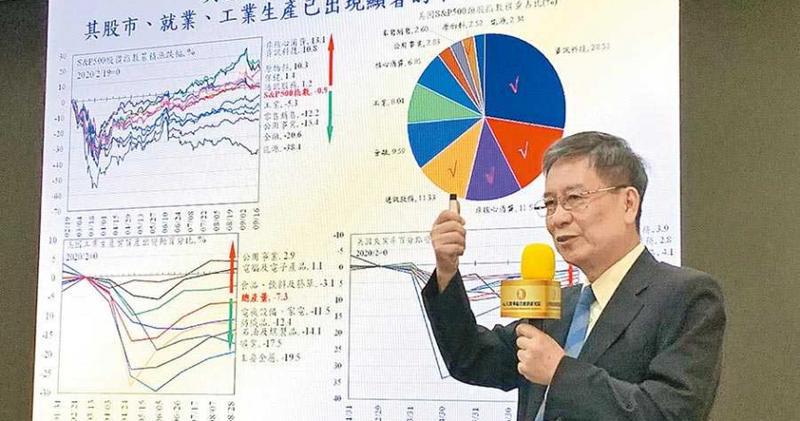 元大寶華綜合經濟研究院董事長梁國源。(圖/工商時報陳碧芬)