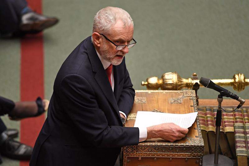 Jeremy Corbyn is apparently behind the nomination (AFP via Getty Images)