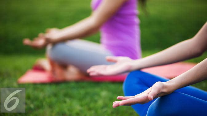 Ilustrasi Yoga. (iStockphoto)