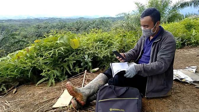 Guru di SMTK Mamuju, Sulawesi Barat, Ahmad Sutrayadi (Liputan6 SCTV)