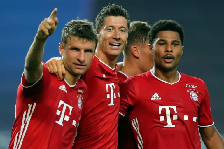 Gnabry and Lewandowski fire ruthless Bayern into Champions League final