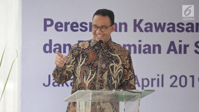 Anies: Kebutuhan Pokok Jakarta Cukup