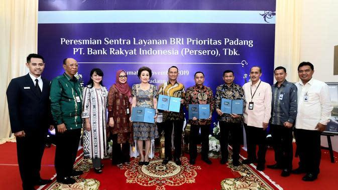 Genjot Pertumbuhan Simpanan, BRI Tambah Sentra Layanan Prioritas di Padang