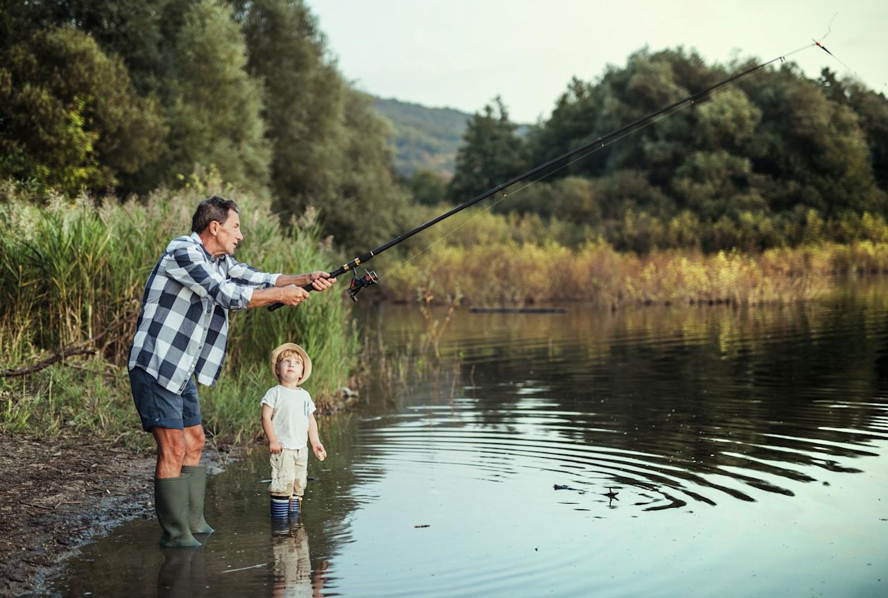 """<p>Summer brings sunny days, warm temps, and  an abundance of holidays, events, and activities. As you lounge by the pool, it might be a good time to plan for it all. In order to make dear old Dad feel extra special this year, you might want to start thinking about some fun Father's Day ideas. <a href=""""https://www.countryliving.com/life/a27020796/when-is-fathers-day/"""" target=""""_blank"""">When is Father's Day</a>, you might be asking yourself. This year, the big day falls on June 21. That means you have some time to plan out a  <a href=""""https://www.countryliving.com/food-drinks/g3379/fathers-day-brunch/"""" target=""""_blank"""">Father's Day brunch</a> that will kick off his day on a festive note. (You can either enjoy it all together or make it and drop it off at his house, depending on what's happening in the world.) <br></p><p>You can also go the extra mile with a carefully chosen <a href=""""https://www.countryliving.com/shopping/gifts/g1465/fathers-day-gift-guide/"""" target=""""_blank"""">Father's Day gift</a> and <a href=""""https://www.countryliving.com/shopping/g3389/fathers-day-cards/"""" target=""""_blank"""">Father's Day card</a>. But what if  you have a dad who has a special hobby—like, say fishing—then what? Well, you're in luck.  Whether he's an expert angler or a novice fisher we have carefully selected a bunch of gifts that are sure to make his day. Some dads may appreciate something personalized, while others may want to curl up with a fly-fishing book. No matter what you decide, you're sure to be celebrated for your great catch of the day.<br></p>"""