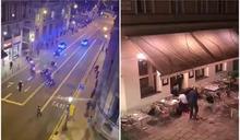 【有片】維也納恐攻至少17死傷 警匪駁火畫面曝光