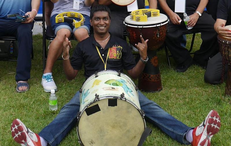 Sanjiv was loved by many in the local music scene. — Picture courtesy of Aseana Percussion Unit.