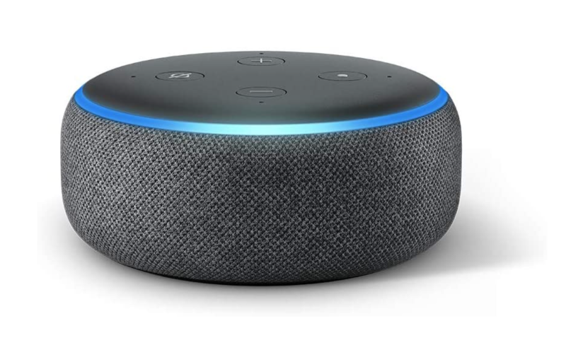 Buy two Echo Dot devices for $50. Image via Amazon.