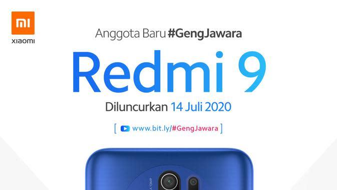 Tampilan Redmi 9 yang akan dirilis pekan depan (Foto: Xiaomi)